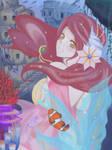 Ariel the little mermaid by pomme2reinette