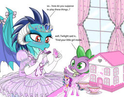 Princess Ember learn to play (story below) by AVCHonline