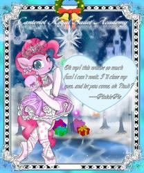 The Mistletoe card03 -PinkiePie by AVCHonline