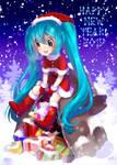 Happy New Year Miku-chan by RozenTrue