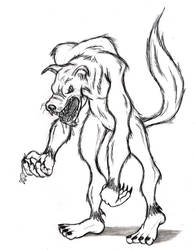 Werewolf 1 by DAVEAC1117