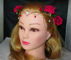 Red Roses Tiara by Lyriel-MoonShadow