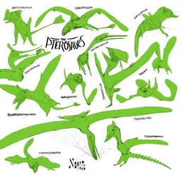 so many pterosaurs, but not enough by ohmygiddyaunt