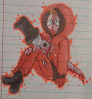 Impaled Kenny by PiXieChaan