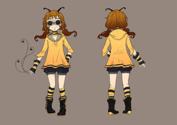 PM 2011:Honeybee by Ethereal-Mind