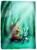 Hungry Bunny by Aaron-Randy