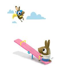 Im flying, dad by Aaron-Randy
