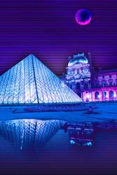 Paris Pyramid by demida1984