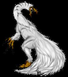 Therizinosaurus by TheLadyOfArt