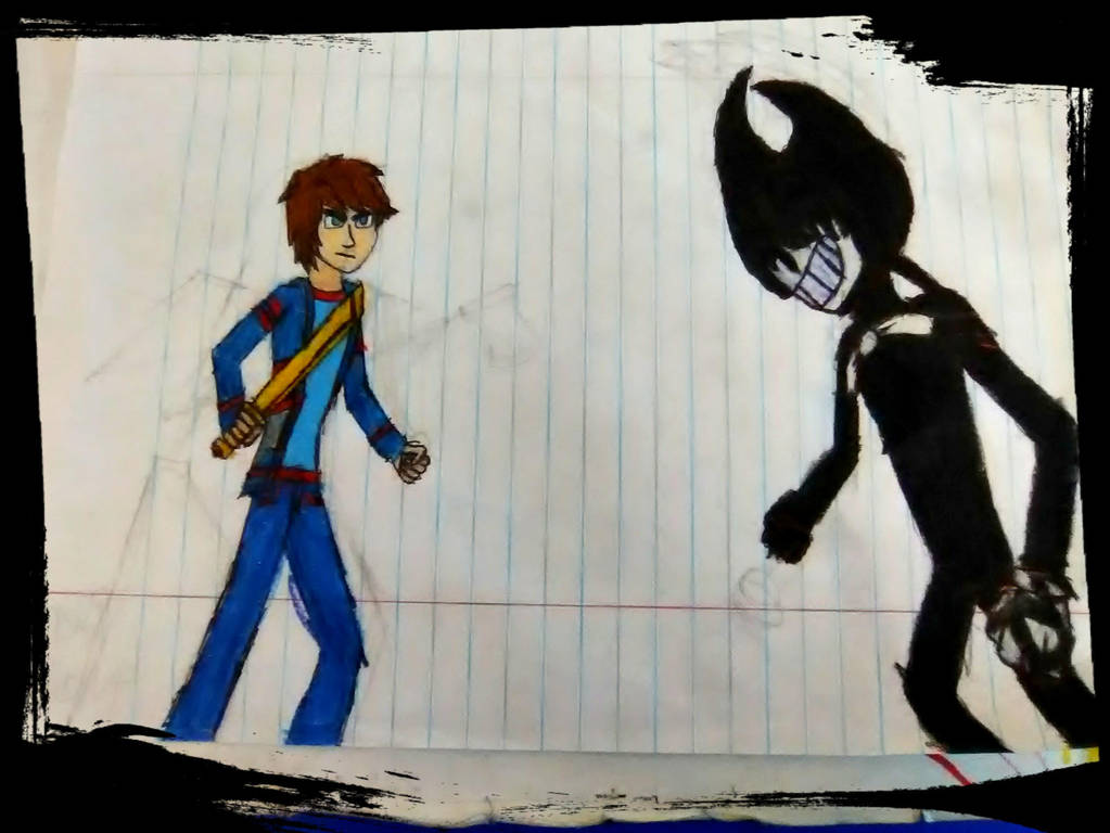 Ben VS Bendy by GOLDENDOCTOR1