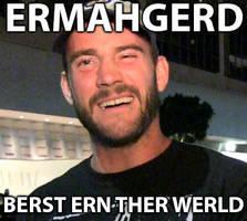 CM Punk-ERMAHGERD by ExtremEnigma0711