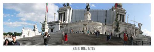 Altare della Patria - Roma by Orvandor