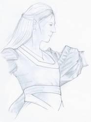 scraps - an elf by Orvandor