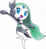 Meloetta by AsteriaVisual
