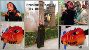 Persimmon Partial by HellCharm