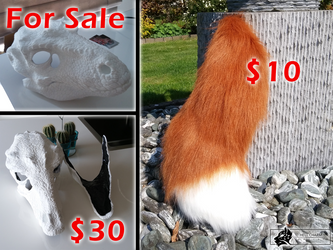 Fursuit items for sale! by HellCharm