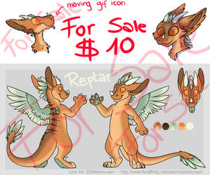 Reptar - Unused character sale - OPEN by HellCharm