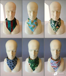 Fursuit bandanas by HellCharm