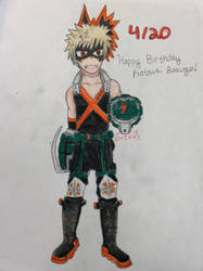 Happy Birthday - Bakugo by HeyItsKayliKat