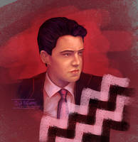 Agent Dale Cooper by 9Lion6