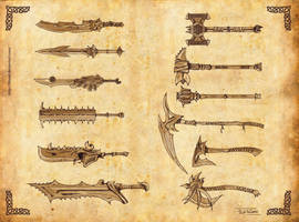 Weapons by 9Lion6