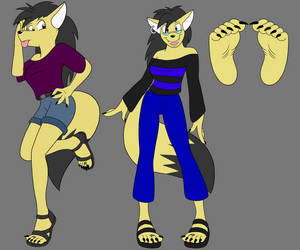 Aria Ref Sheet by Thunder-Bolt