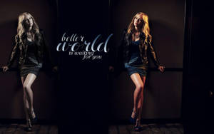 Candice Accola Wallpaper by McOlussska