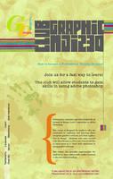 Graphic Design Club Flyer by MissElegant