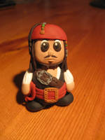 Fimo Jack Sparrow by AwesomeNickname