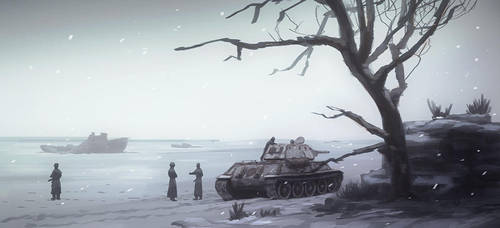 the icey Volga (speed painting) by lhlclllx97