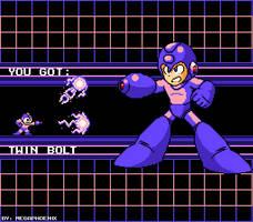 Mega Man Reboot - New Weapon Get ! by MegaFinex