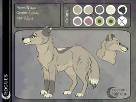 CC: Nimue Application Sheet || Retired by Pinky-Poodle