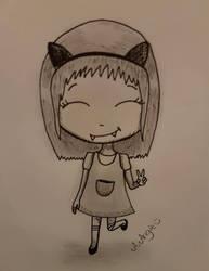Little Vampire  Girl by aangieart