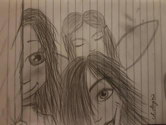 Scrap drawing by aangieart