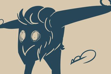 Muttonchops Worm by brea83