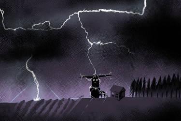 Day27_hornedworm_Lightning by brea83