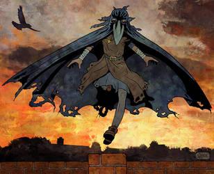 Crow-Girl Run 2 by Smoozles