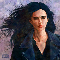 Jessica Jones by Smoozles