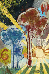 Three Trees 6 by Smoozles