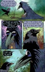 Crow-Girl - Study page 15 by Smoozles