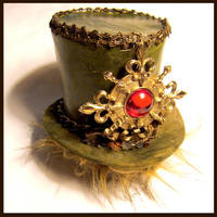 Sourcerer's Orb Mini Top Hat by SteamSociety