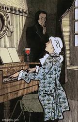Illustration 'Mozart... by Artbashev