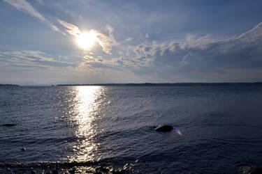 Sunset Over the Big Lake by Kaera-Neko