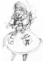 Witch's Poison Secret pencil by soanvalentine