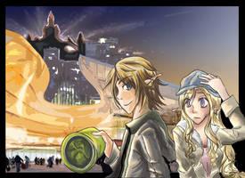 Zelink - A Walk in the City by WingJourneys