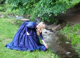 Girl Bending by ann-emerald-stock