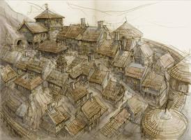 Dwarf Town 2 by Hetman80