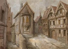 Medieval town 2 by Hetman80
