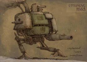 Imperial war machine by Hetman80