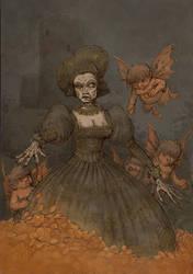 Ghost of Queen Bona Sforza by Hetman80